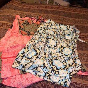 Wrap skirt bundle